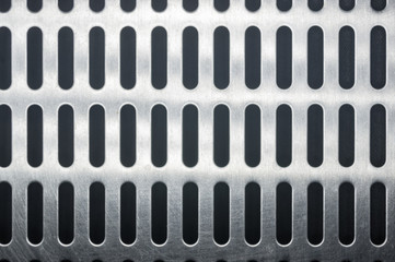 stainless steel grating with oblong holes