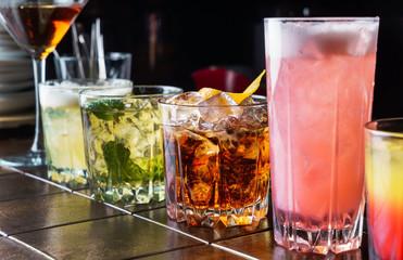 cocktail in teh bar