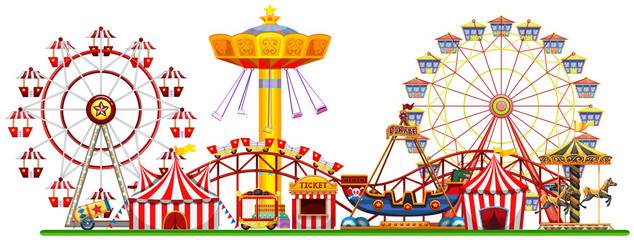 A Panorama of Fun Fair