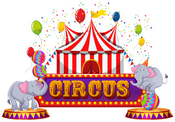 A Fun Circus anf Happy Animal