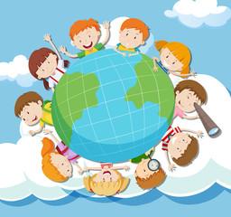 Global Kids on the Sky