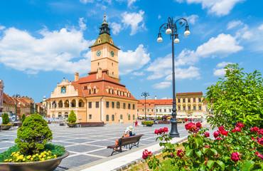 Wall Mural - Council Square Brasov, Transylvania landmark, Romania