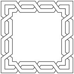 Logo bordure. Cadre.