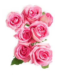 Beautiful roses flowers bunch
