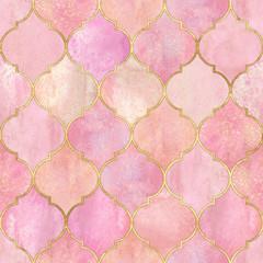 Vintage decorative moroccan seamless pattern