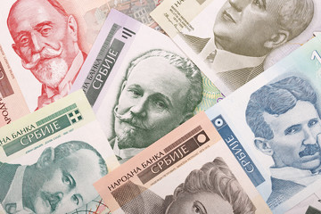 Money from Serbia, a background