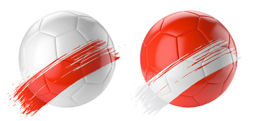 Ballons de football vectoriel 20