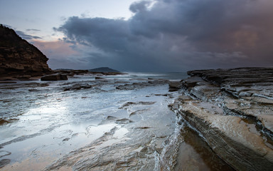 Colours of a storm - Seascape