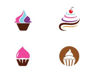 Cake sign icon vector illustration