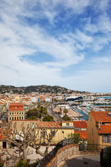 Cannes City Cityscape in France