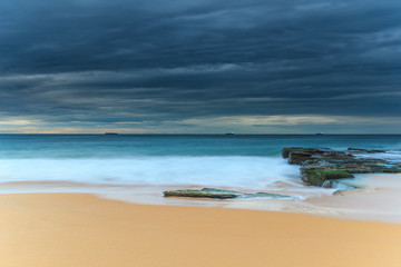 Scenic Morning Seascape