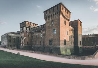 Fotomurales - medieval fortress - Gonzaga Saint George castle - Mantua Italy