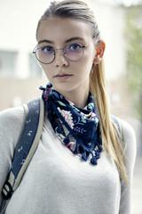 Female student, portrait