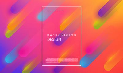 Geometric neon background