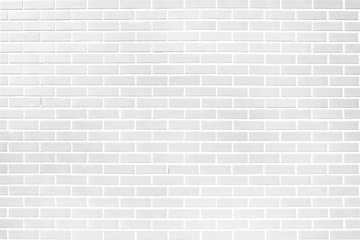 White brick wall texture background material of industry building construction. for design