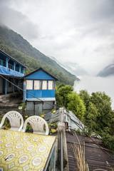 Himalaya Annapurna Trekking Wolken Sinuwa