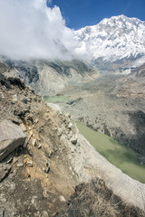 Himalaya Annapurna Sonnenstrahlen Berge Hiking Schlucht