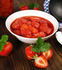 Erdbeeren - Kompott