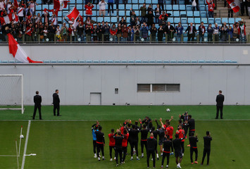 World Cup - Peru Training