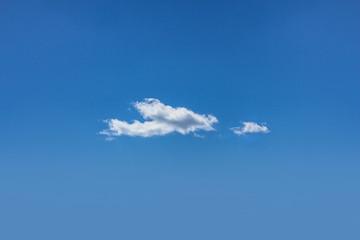 Blue sky clouds wallpaper background cloudscape skyscape