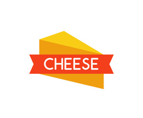 Vector Emblem of Cheese