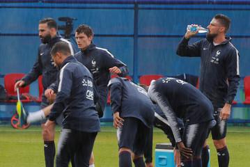 World Cup - France Training