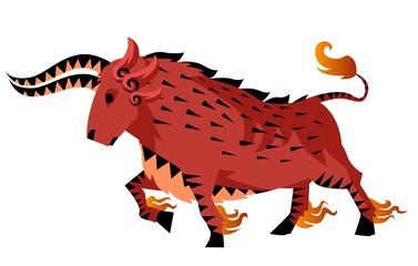chinese zodiac ox bull