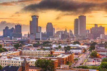 New Orleans, Louisiana, USA CBD Skyline