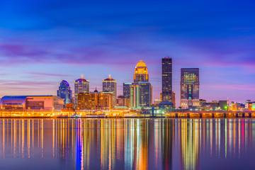 Fotomurales - Louisville, Kentucky, USA Skyline
