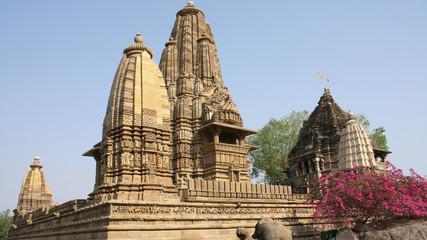 Templo Lakshmana, Templos del Oeste en Khajuraho, India