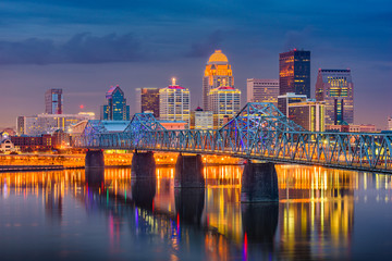 Fotomurales - Louisville, Kentucky, USA Skyline