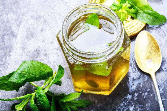 Jam from fresh mint