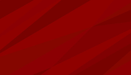 Red dynamic background. Vector geometric banner.