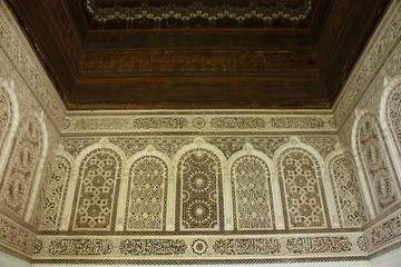 Palacio Bahía en Marrakech, Marruecos