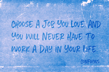 choose job Confucius