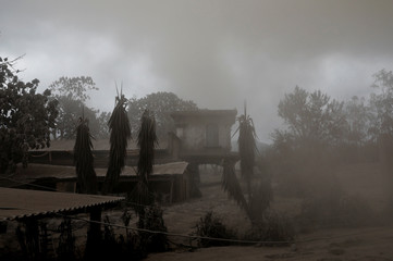 The Wider Image: In volcano's wake, Guatemalan town became a cemetery