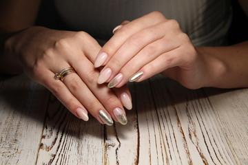 beautiful manicure design