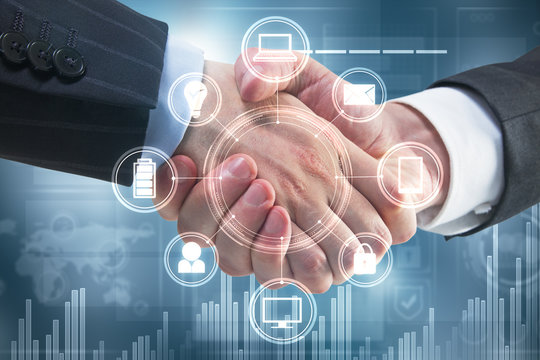 Handshake with business interface