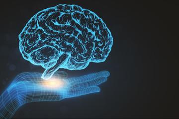 Artificial intelligence backdrop