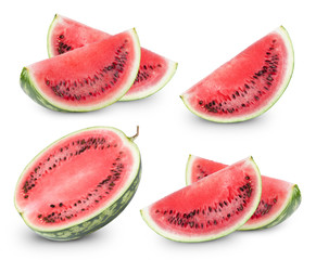 Watermelon fruits collection