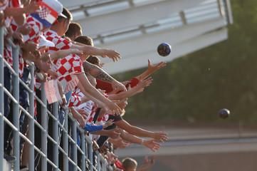 World Cup - Croatia Training