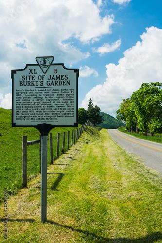 road signs,Burkes Garden,VA\