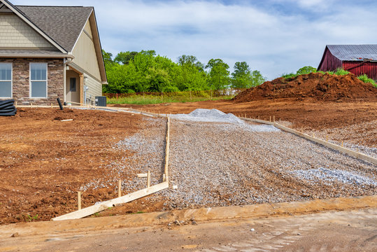 New House Driveway Construction