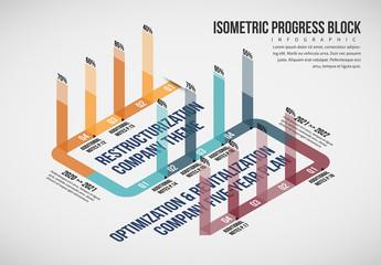 Progress Block Infographic