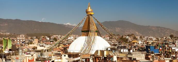 Bodhnath stupa, biggest stupa in Kathmandu city