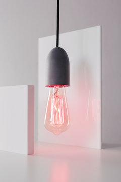 Retro lamp.