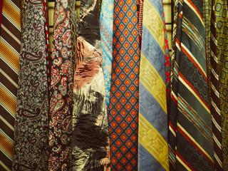 Silk Ties in Vintage Clothing Store