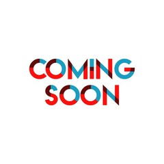 Coming Soon Vector Template Design Illustration
