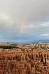 Rainbow over Canyon