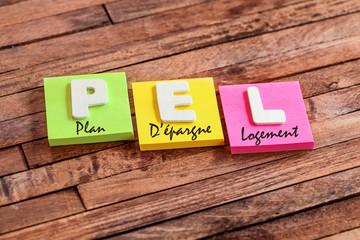post-it acronyme : PEL plan